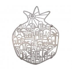 Kippah - Velvet + Embroidered - Gold