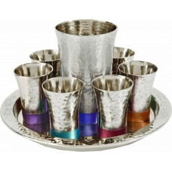 Kiddush Cup + Nickel Balls - Multicolor