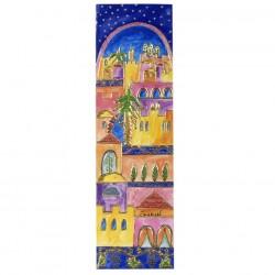 Hamsa - Painted - Laser Cut - Jerusalem
