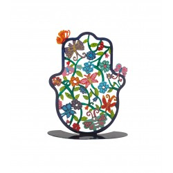 Silk - Painted Challah Cover- Festivals