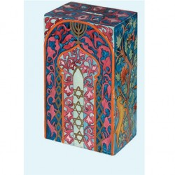 Plata Cover- Fabric Collage- Eastern