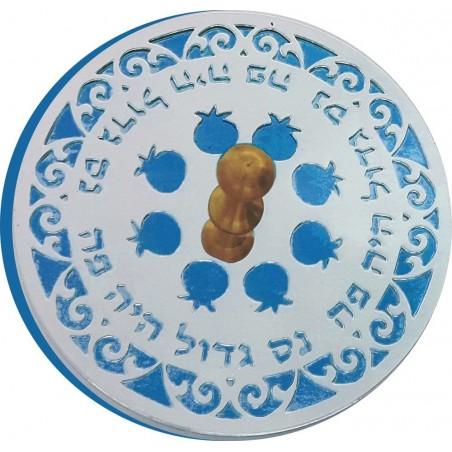 Mezuzah Metal Shemah Israel