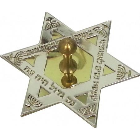 Mezuzah Metal Shema Israel