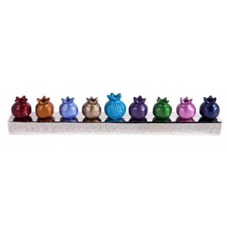 Chanukkiah Filigree Miniature