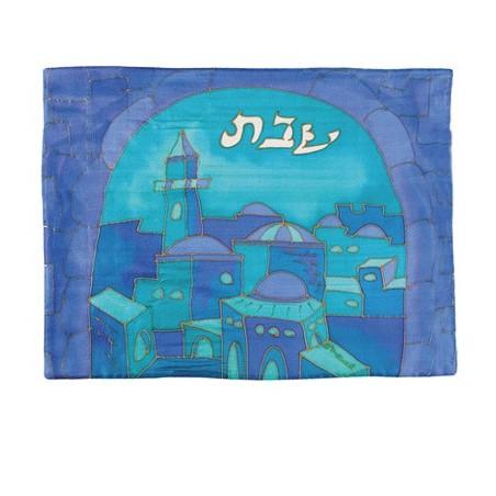 Menorah Knesset 35 cm Pewter