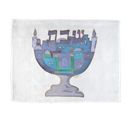 Menorah Silver Plated