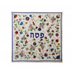 Passport Bag - Magen David - Blue