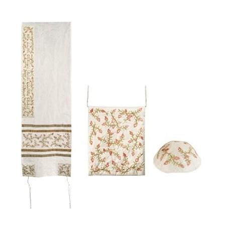 Glasses Holder - Embroidered - Maroon