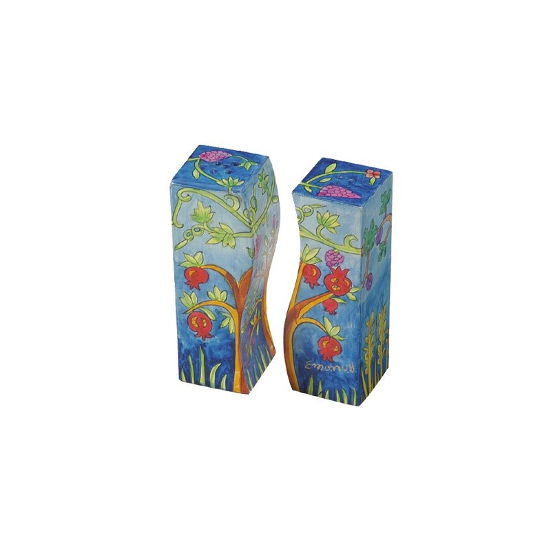 Bookmark - Embroidered - Flowers Blue