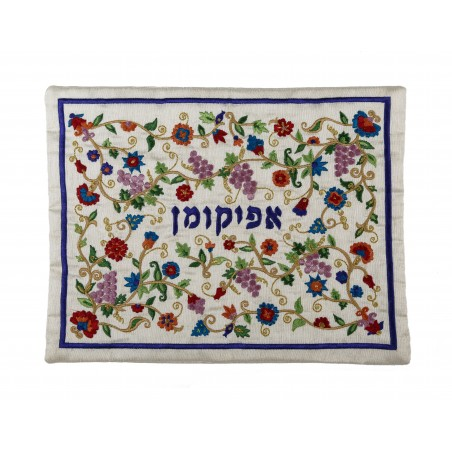 Wall Hanging - Home Blessing - English - Pomegranates - White