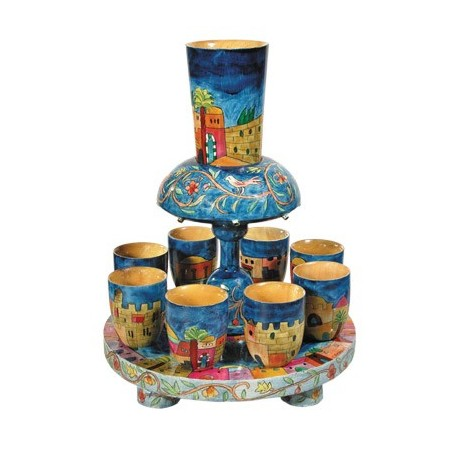 Netilat Yadayim Cup - Blue