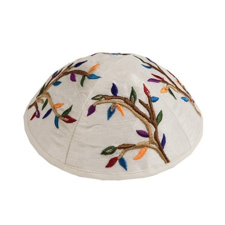 Atara + 4 Corners - Embroidery - Jerusalem + Bracha - Gray