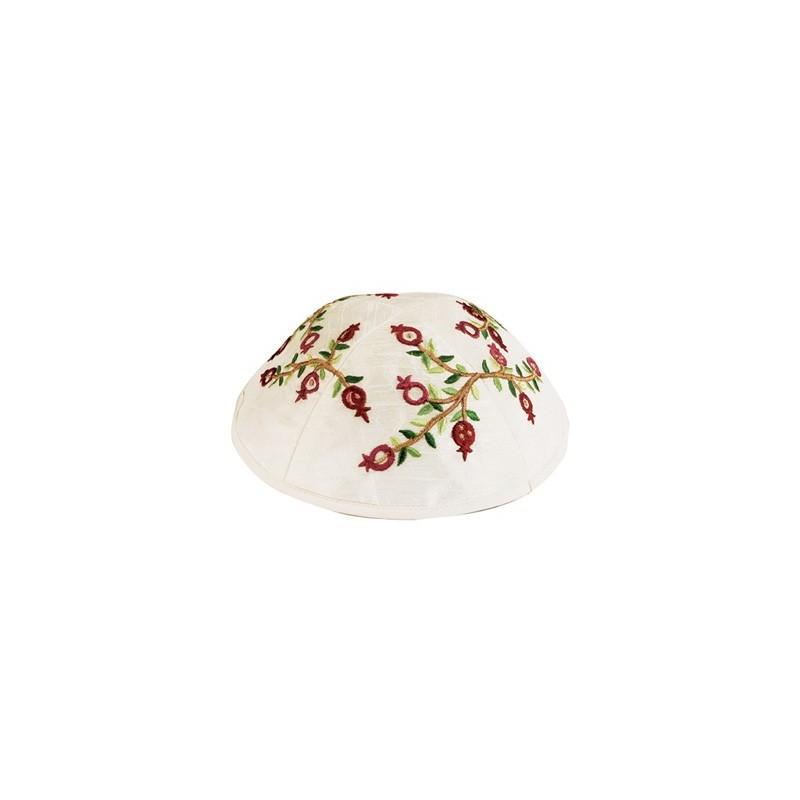 Raw Silk Applique`d Atara - Crowns
