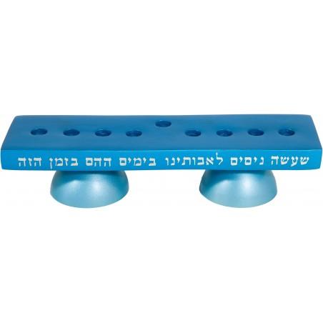 Tallit - Completely Hand Embroidered - Jerusalem - Blue