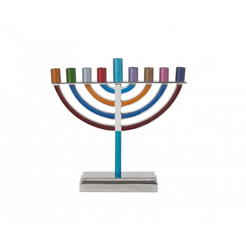 Small Wooden Painted Hamsa - Jerusalem Modern