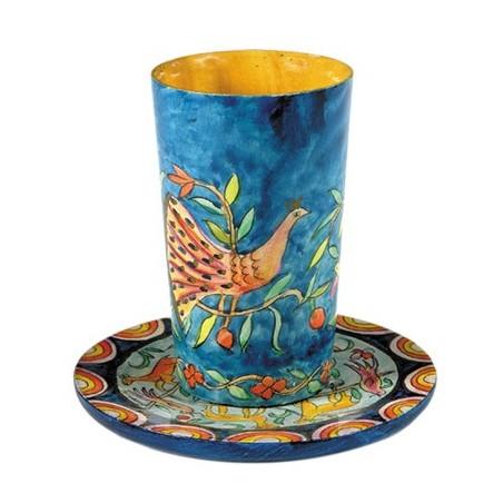 Hanukkah Menorah - Standing Squares - Multicolor