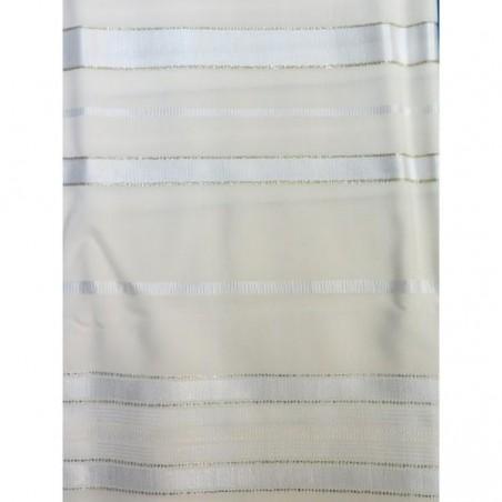 Book Bag - Thick - White/Blue
