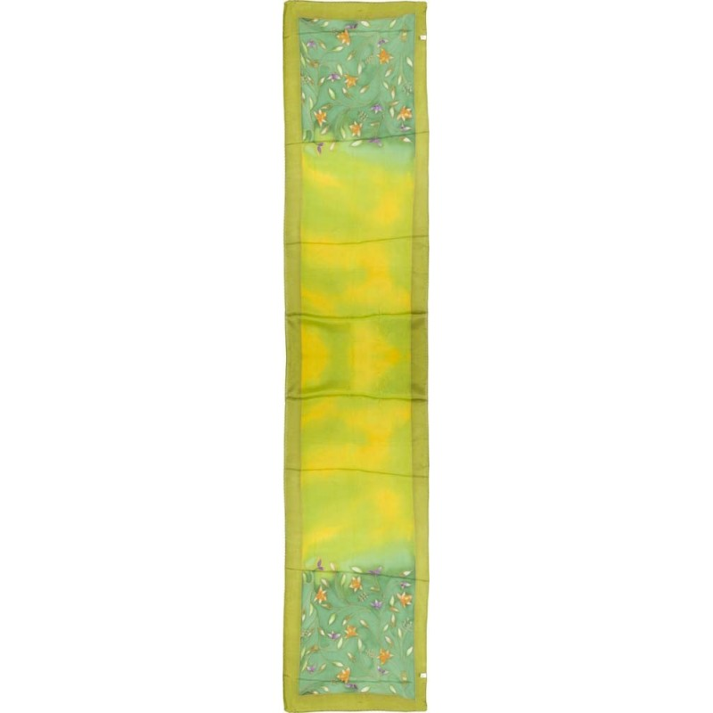 Silk Scarf Flowers Design