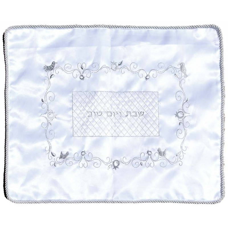 Challah Cover Satin with Rope