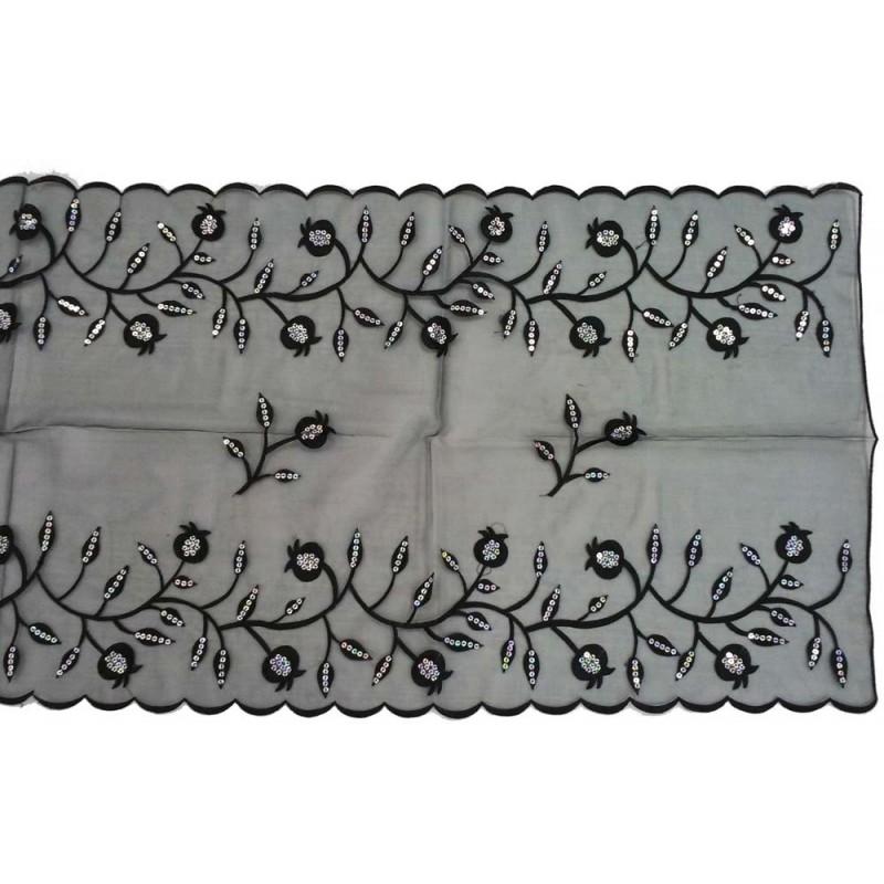 "Tfilin Bag -  Embroidery - Linen - ""Yevarchecha"" Bright"