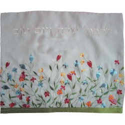 Tallit Bag - Machine Embroidery - Wheat