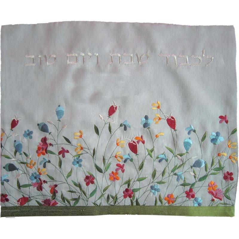 Tallit Bag - Machine Embroidery - Wheat