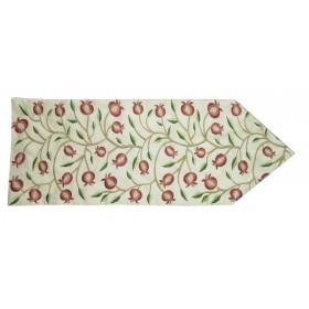 Table Runner Pomegranate Red