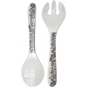 Fork and Spoon Set Bamboo Eco-Friendly
