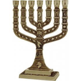 Menorah Knesset 22 cm Laiton