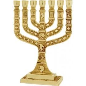 Menorah Knesset 22 cm Or