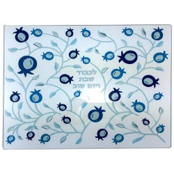 Magnet-Stand Menorah Knesset Silver Col.