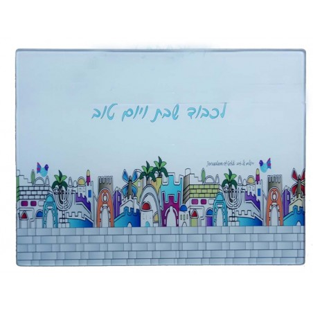 Magnet Jerusalem Colorful