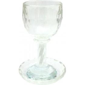 Kiddush Goblet w/Coaster Crystal