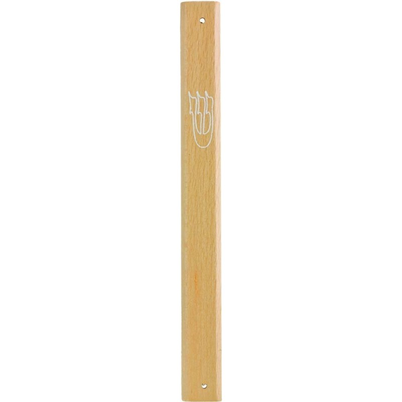 Mezuzah Wood Oak 15cm