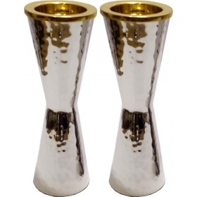 Candle Holders Hammered