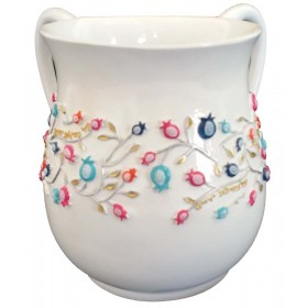 Wash Cup pomegranate Colorful