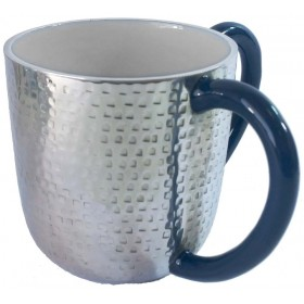 Wash Cup Hammered with Enamel