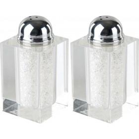 Sel & Poivre Set Cristal w / Pétillant