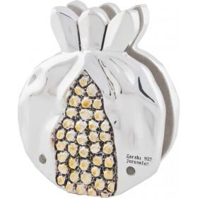 Napkin Holder Pomegranate Silver 925 Electroforming