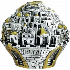 Jerusalem ball Large Silver 925 Electroforming