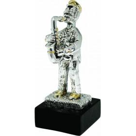Saxophone Player Mini 925 Silver