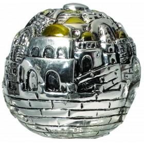 Jerusalem ball Small Silver 925 Electroforming