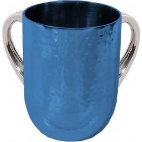 Netilat Yadayim Cup - Hammer Work - Blue