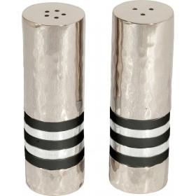 Salt & Pepper Shakers - Rings - Black