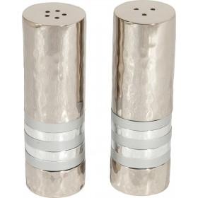 Salt & Pepper Shakers - Rings - Silver