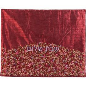 Plata Cover - Pomegranates-Maroon