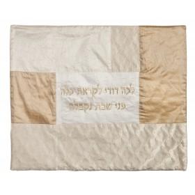 Plata Cover -Collage de tissu- Blanc