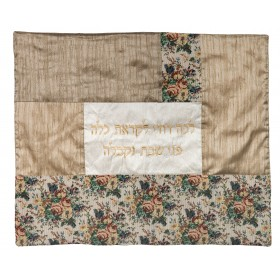 Plata Cover -Fabric Collage- Tapestry- Flowers