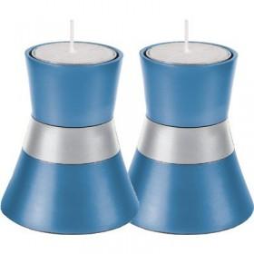 Small Candlesticks - Light blue