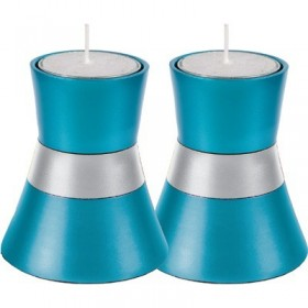 Small Candlesticks -Turquoise
